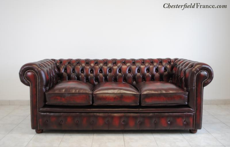 Chesterfield france chesterfield le canap lit classic for Canape chesterfield convertible