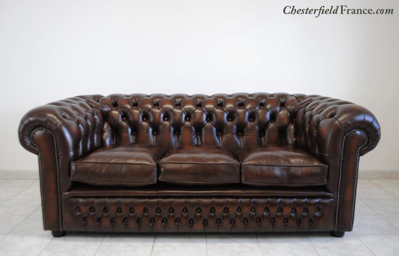 Chesterfield France - Le Canapé-lit Premium Classic